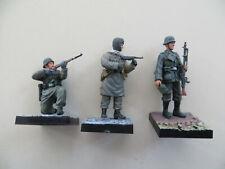 1/35 SCALE DRAGON CANDO 3 GERMAN SOLDIERS SUB MACHINE GUNNER MG34 MACHINE GUNNER