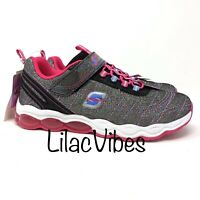 Girls' S Sport by Skechers Tamarah Light-Up Performance Athletic Shoes Black 5