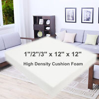 12'' Square High Density Seat Foam Cushion Sheet Upholstery Replacement