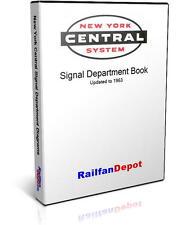 New York Central Railroad Signal Diagrams - PDF on CD - RailfanDepot