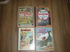 Lot de 4 livres de Benjamin Rabier