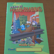 READ IT Home Reading Diary Middle Level Green