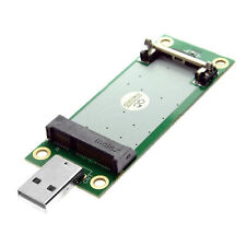 Mini PCIe WWAN Card to USB Adapter 4G module with SIM Slot, PCI Express