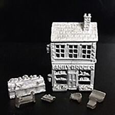 1/12 Scale Dolls House - Family Grocer toy dollshouse - H542U - Pewter