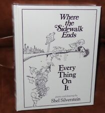 Where the Sidewalk Ends/Every Thing On It: HardCover Leatherbound  New & Sealed