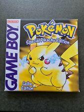 Gameboy Pokemon Gelbe Edition