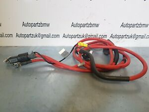 BMW E46 3 Series Battery Positive Power Blow Off Cable oem 8368714 #ua1.2