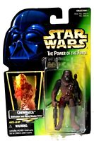 Kenner Star Wars POTF Power of the Force Chewbacca Action Figure NIB d724