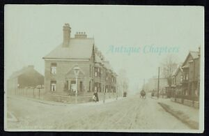 1905 Leicester Road Syston Leicestershire Postcard C801