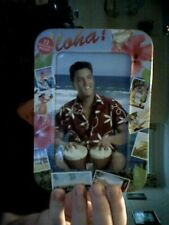ELVIS PRESLEY ALOHA!  METAL STORAGE CASE IDEAL GIFT! FREE UK POST