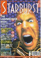 Starburst Number 166 Britain's Premier Sci-Fi Mag, Lawnmower Man, Star Trek VI