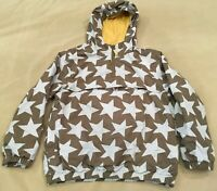 Mini Boden Jacket 7/8 Boys Stars Pullover Hoodie Fall Spring