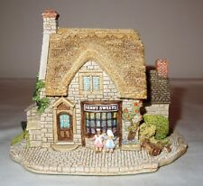 1992 Lilliput Lane Village Shops Penny Sweets - Handmade in Cumbria, Uk - Mint