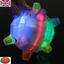 Jumping Joggle Bopper Flashing Light Up Bouncing Vibrating Sound Kid Toy Ball