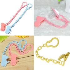 3pcs Baby Soother Dummy Pacifier Strap String Chain Clip Holder Convenient Tool