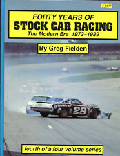 Forty Years Of Stock Racing 1972-1989