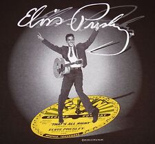 "Elvis Presley - signature / ""That's All Right"" t-shirt - XL size - Sun Records"
