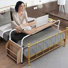 Mobile Over Bed Laptop Computer Desk Adjustable Overbed Hospital Medical Table