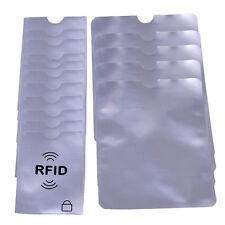 Credit Card Passport Protector RFID Blocking Case Sleeve Shield Holder Secure Je