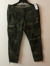 Abercrombie & Fitch Mens Athletic Skinny Camo Cargo Pants ~ 33 x 32