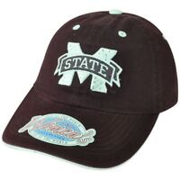 NCAA Mississippi State Bulldogs Women Ladies Rhinestone Bling Buckle Hat Cap