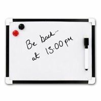 A4 Dry Wipe Magnetic Mini Office Whiteboard Notice Memo White Board Pen Eraser