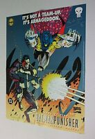 1994 Punisher Batman Marvel DC Comics SIGNED comic promo poster 1: 1990's Azrael