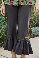 Womens Matilda Jane Camp MJC Wayfarer Big Ruffles pants Size Medium NWT