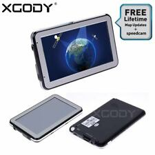 "XGODY 4.3"" SAT NAV 8GB Car Truck HGV LGV GPS Navigation UK EU Lifetime Map POI"