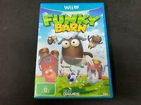 Funky Barn Nintendo Wii U Game *Complete* (PAL)