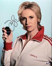 Jane Lynch Signed 11x14 Photo *The Tonight Show *Comedian Beckett BAS Q14127
