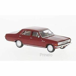 Brekina 20753 1/87 Ho Opel Admiral a Red Dark Car Miniature H0