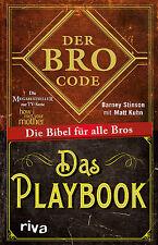 Der Bro Code und Playbook Bundle Matt Kuhn HOW I MET YOUR MOTHER Kult Buch neu