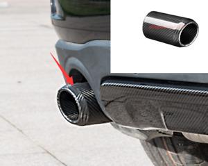 Carbon Fiber Exhaust Muffler Tip End Pipe Trim For Mini Cooper Countryman F60