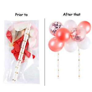 Confetti Balloon Cake Topper Decor Wedding Decor Glitter Cupcake Birthday Kids