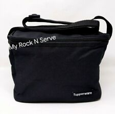 Tupperware  Insulated Lunch Bag Black NEW !!!