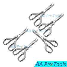 5 - Scissor Eyebrow Shaping Embroidery Nose Mustache Trimming Shears