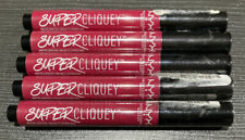 NEW!! NYX Super Cliquey Matte Lipstick x5 Serpent
