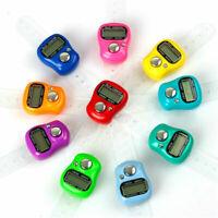 4 Stellig Schrittzähler Handzähler Klicken Tally Counter Klicker Stückzähler Lap
