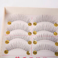 10 Pairs Natural Long Thick Women Girls False Eyelashes Lashes New Handmade T8P6