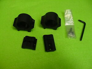 """Winchester 94-Angle Eject Lever Action Scope Mount 94AE Base & Medium 1"""" Rings"""