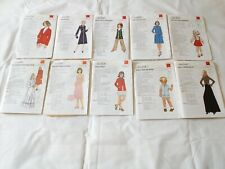 Sewing Pattern 1970's Silver Needles Sewing Patterns Retro Clothing Adults Child