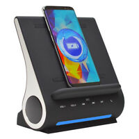 Azpen D108 DockAll Fast Qi Wireless Charging Sound Hub