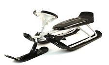 Stiga Snow Racer king Size GT Lenk Schlitten für Erwachsene mit lange doppelsitz