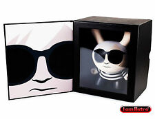 "Andy Warhol 8"" Masterpiece Andy Black Dunny - Kidrobot Limited to 500 PCS"