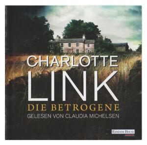 Die Betrogene von CHARLOTTE LINK 10 Hörbuch-CD (Laufzeit 716 min)