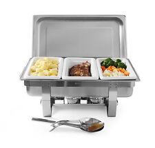 Hendi Fiora Chafing-Dish 1/1 GN Set Brennpaste Buffet Speisewärmer 9L NEU