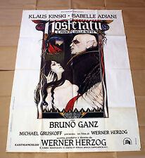 Original Posters Nosferatu Klaus Kinski - Size: 100x140 CM