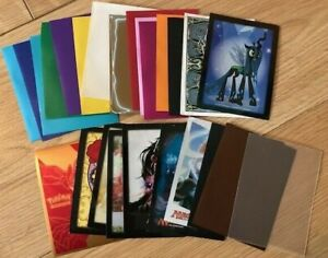 x10 Trading card sleeves choose your colour - Pokemon, MTG, Yu-gi-oh protection