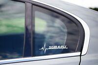 Subaru Is in my Blood Bumper Window Vinyl Decal Sticker JDM WRX Legacy STi EJ20